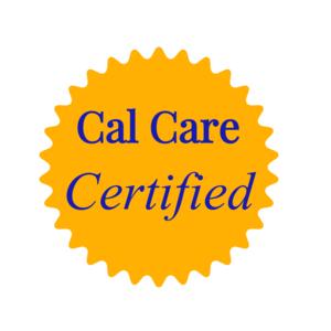 San Luis Obispo Caregivers Cal Care Certified Logo